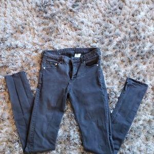 H&M Skinny Regular Waist Jeans